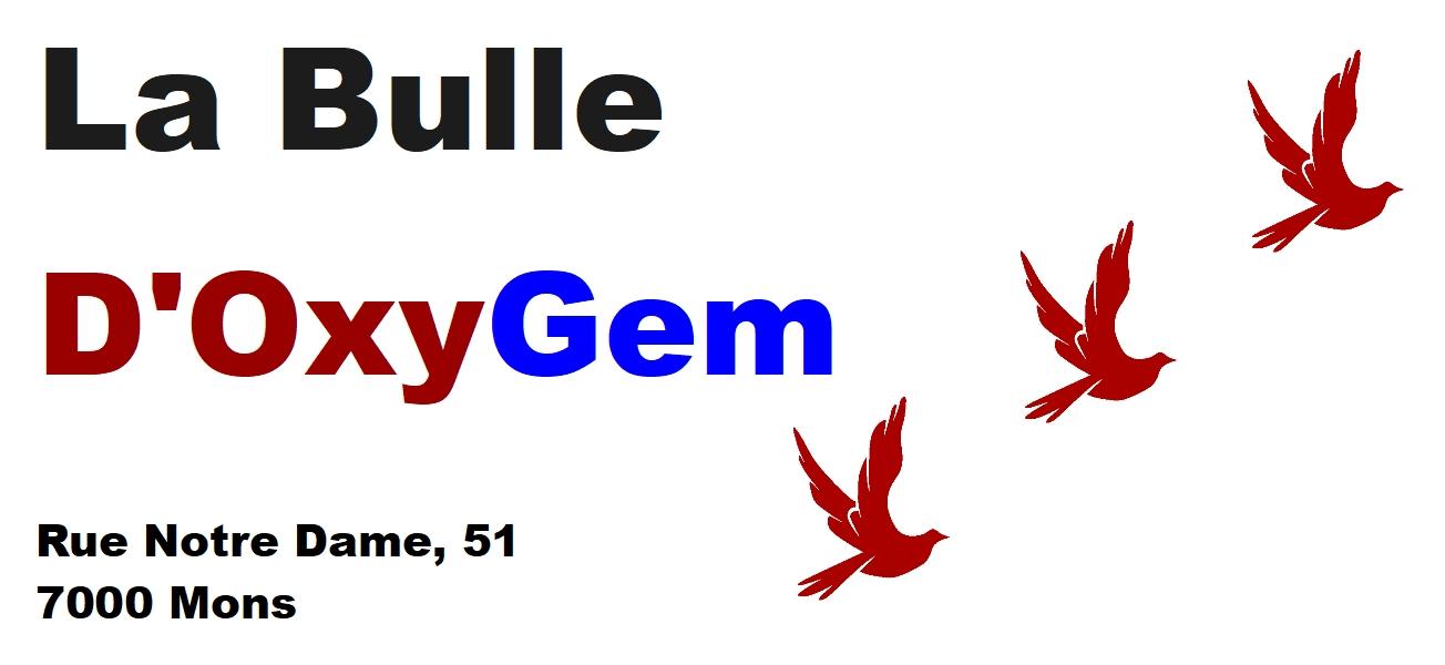Logo Bulle d'OxyGem