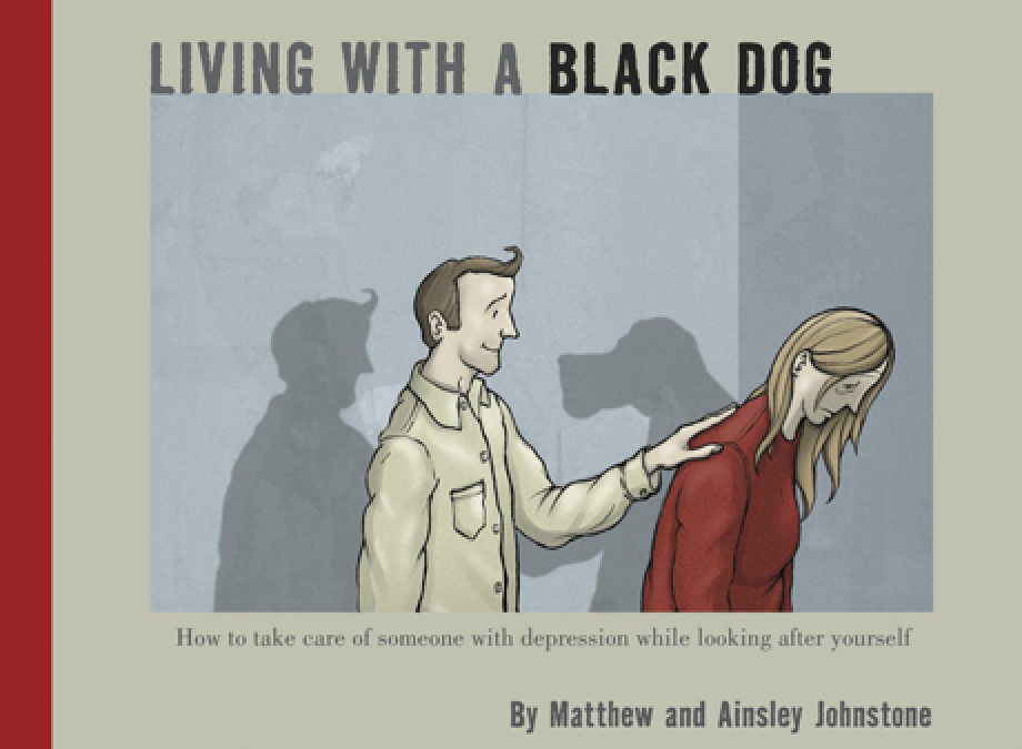 » Living with a Black Dog: His Name Is Depression », Matthew Johnstone